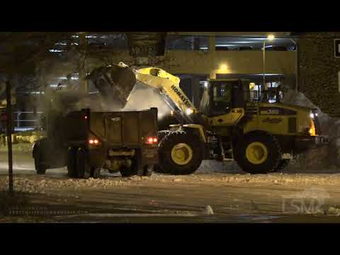 12-01-2019 Rapid City, SD - Heavy Duty Machinery Record Snow Removal