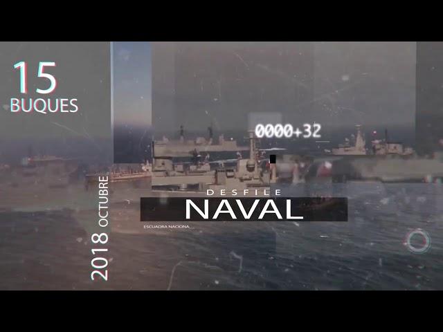 Revista Naval 2018: Sábado 13 de octubre desde las 10:30 hrs