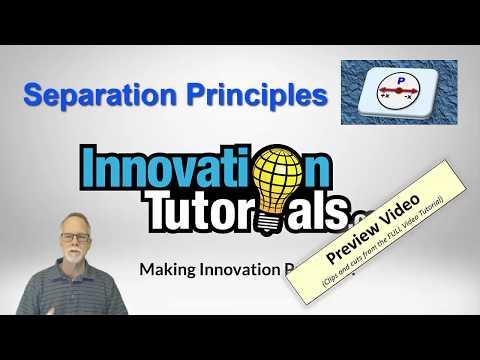 Separation Principles Prieview