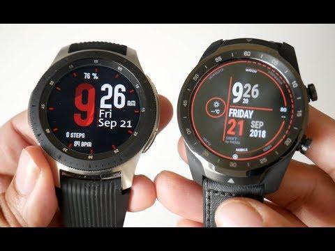 Samsung Galaxy Watch vs Ticwatch Pro - Head to Head Comparison