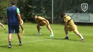 تدريب الدحيل بمعسكره التحضيري في النمسا | 22 يوليو 2017