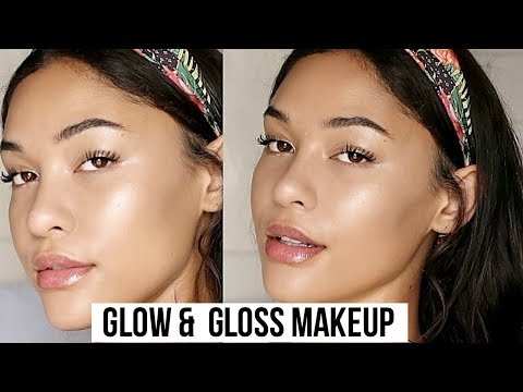 GLOW MAKEUP | HOW TO FAKE GLOWY SKIN!