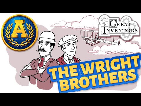 """""""Great Inventors: The Wright Brothers"""" By Adventure Academy"""