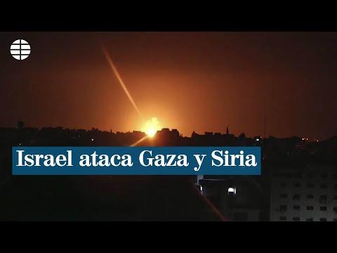 Israel Ataca A La Yihad Islámica En Gaza Y En Siria
