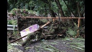 Honolua resident scopes area flooded by Olivia