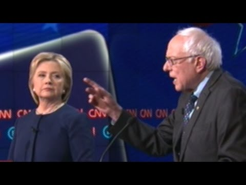 BERNIE SANDERS vs HILLARY CLINTON ON GUN CONTROL! Democratic Presidential Debate In Flint Michigan