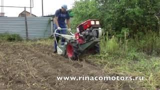 Янмар YHS800 - японский мотокультиватор! Видео испытания!