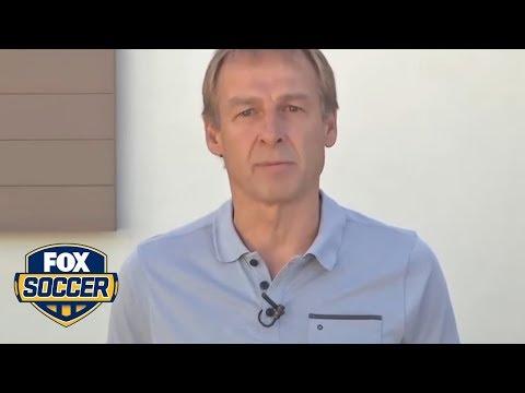 Jurgen Klinsmann left some parting words for U.S. soccer