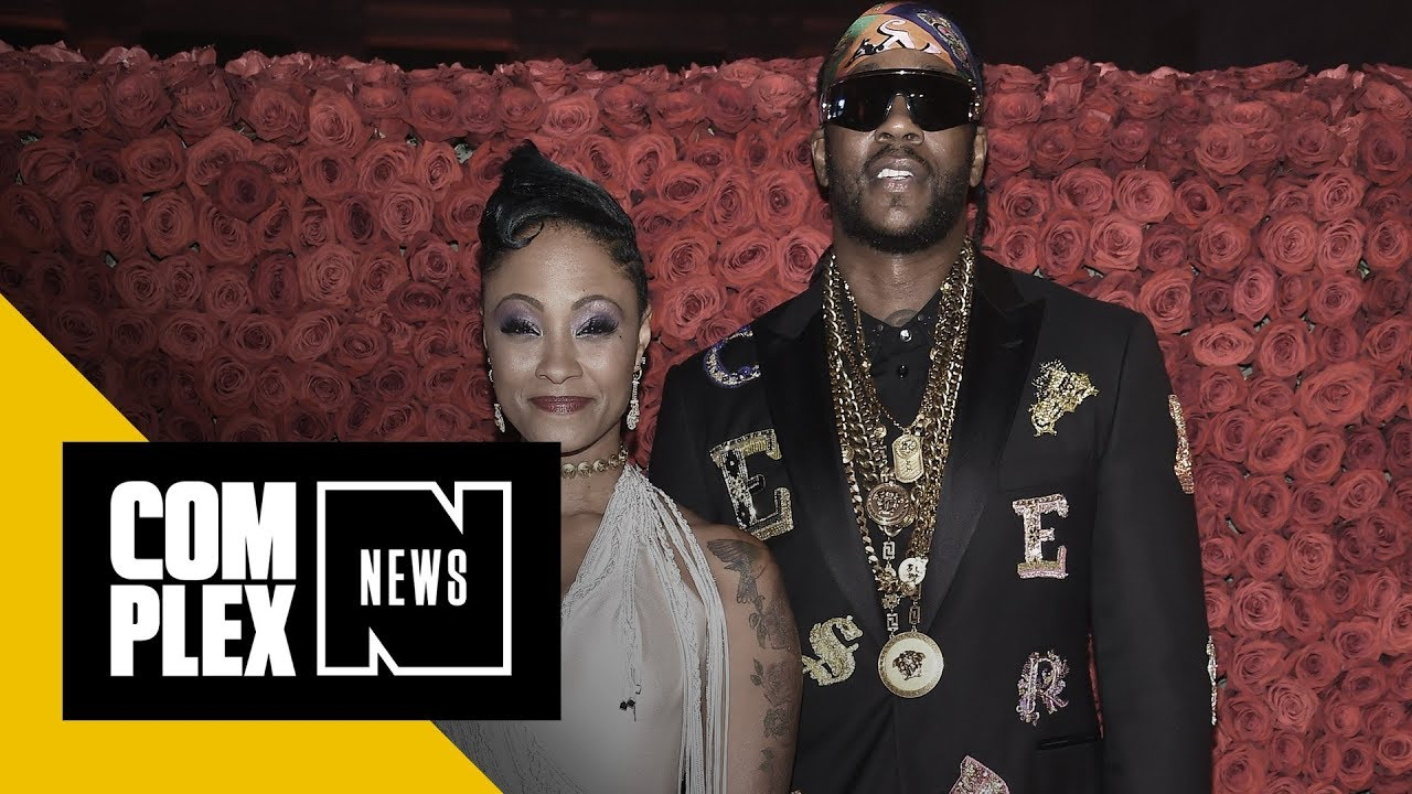 2 Chainz Marries Kesha Ward In The Most Extra Wedding Ever  Watch The Bengal Tiger Used In Ceremony