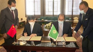 GLOBALink | China provides COVID-19 vaccines to Arab League