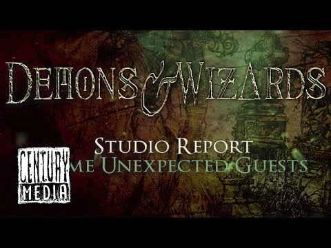 DEMONS & WIZARDS - Studio Report: Some Unexpected Guests