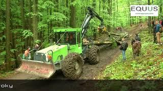 Lesný traktor EQUUS 175N prezentácia sily a kvality