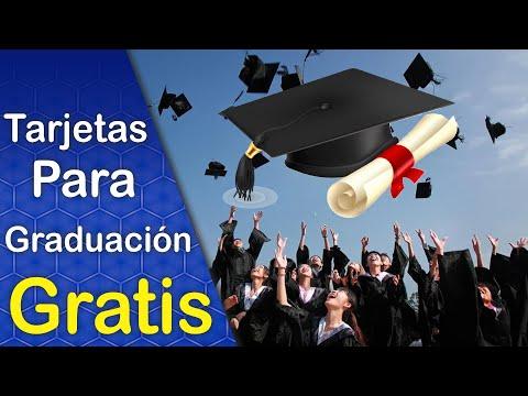 Diseños Vector Gratis Tarjetas De Invitación Para Graduación