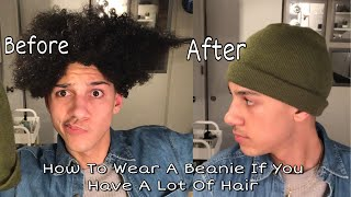 How To Wear A Beanie If You Have Curly Hair