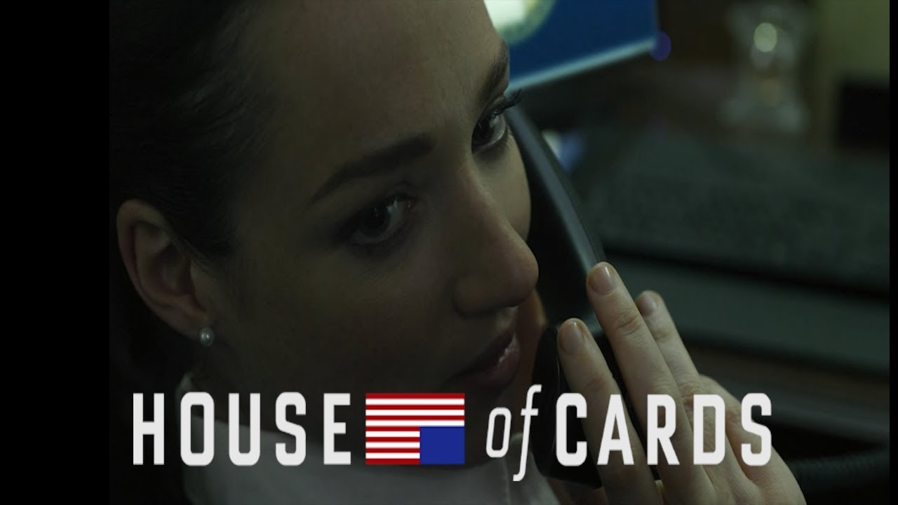 Christina calls peter russo | HOUSE OF CARDS - YouTube