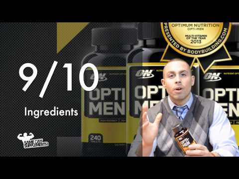 Opti-Men By Optimum Nutrition Review Vitamins/ Minerals