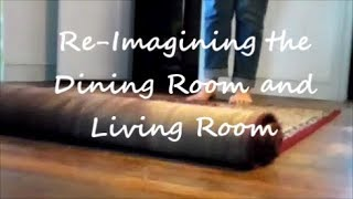 Re-imagining our Dining and Living Rooms! Painting Walls White?