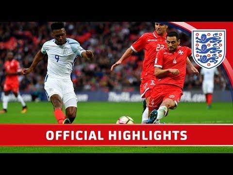 Official - England 2-0 Malta (2018 WCQ) | Goals & Highlights