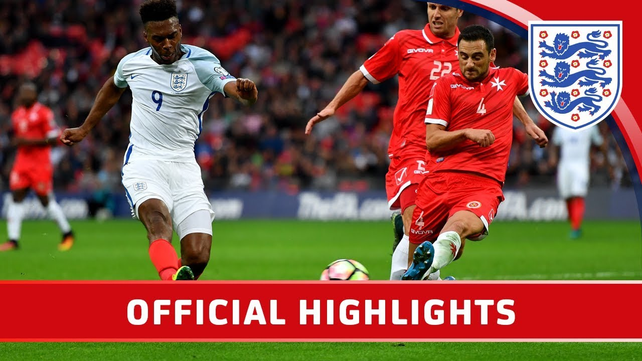 England 2-0 Malta (2018 World Cup Qualifier)  af7b4f3d0