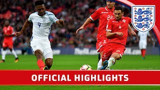 England 2-0 Malta (2018 World Cup Qualifier) | Official Highlights