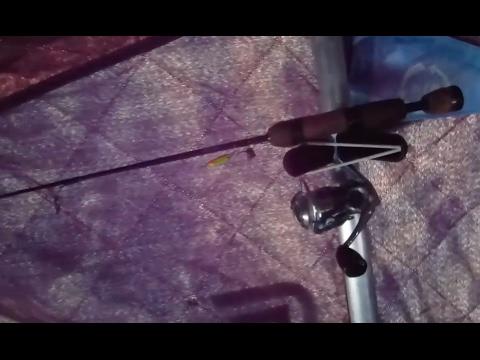 DIY Ice-fishing Rod Holder