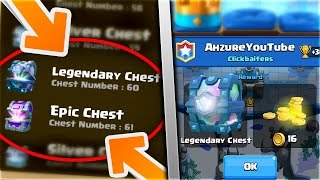 NEW LEGENDARY CHEST CYCLE PATTERN In Clash Royale! PREDICT WHEN YOU WILL GET A LEGENDARY CHEST!!