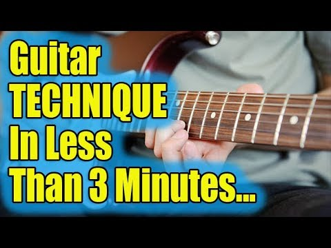 Repair Your Guitar Technique in Less than 3 Minutes (Amazing DIY Guide)