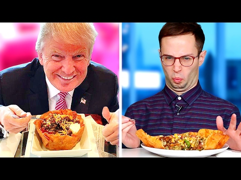 Thumbnail: Trump Grill Taste Test • The Try Guys