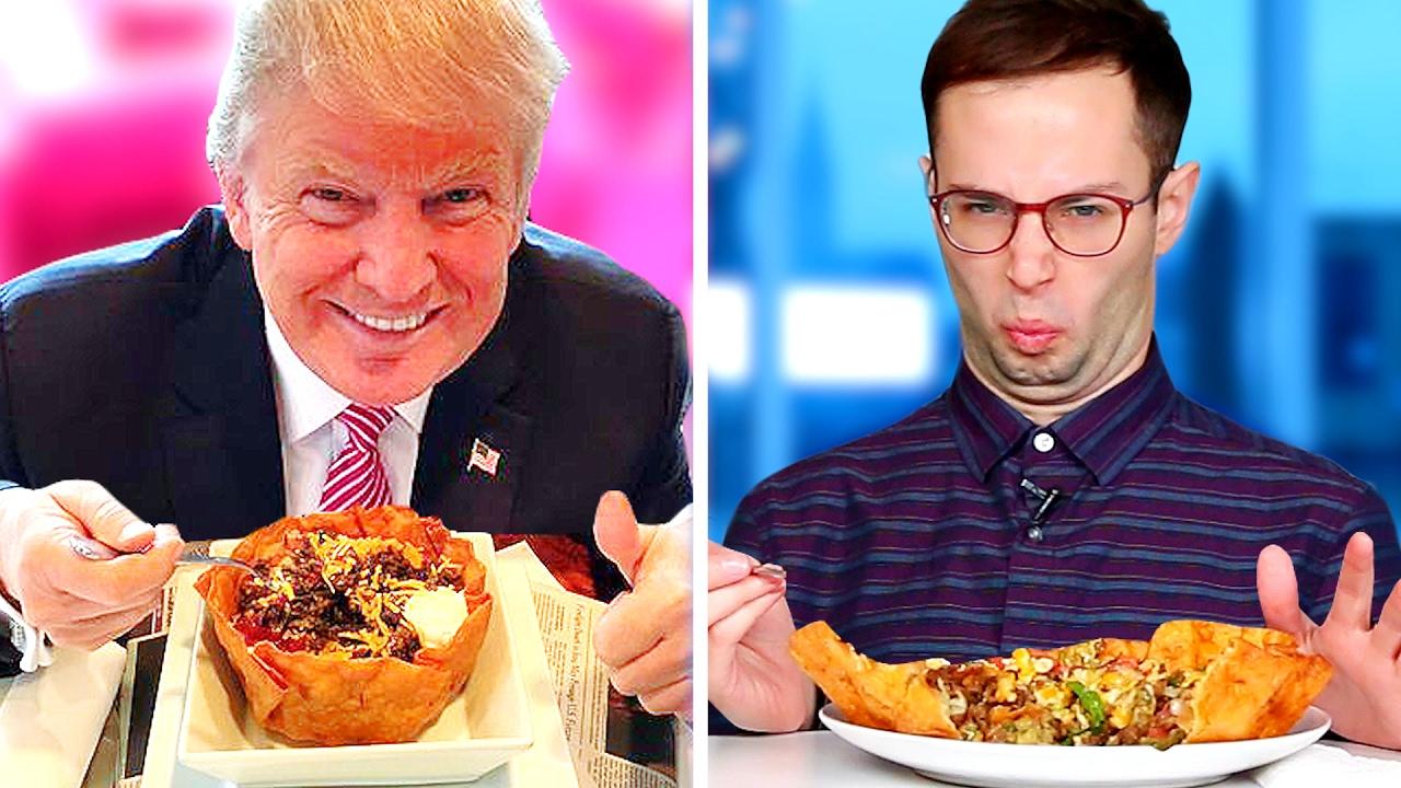 Trump Grill sabor prueba • la prueba chicos