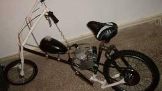 Home made - Ev yapımı motorsiklet