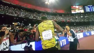 Usain Bolt 200meters in Beijing the movie pt1