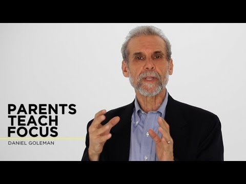 Daniel Goleman: Parents Teach Focus