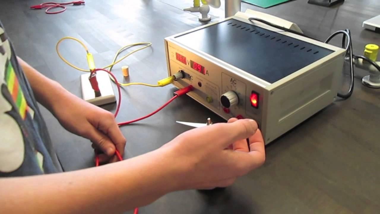 Fysik toturial: magnetfeltet omkring en strømtørende leder.