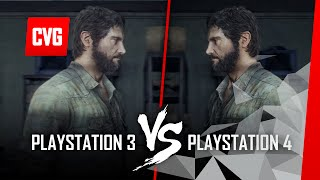 The Last of Us PS4 vs PS3 gameplay comparison