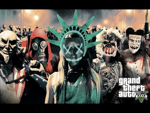 The Purge: Election Year (GTA 5 Mods Funny Moments) Live Stream