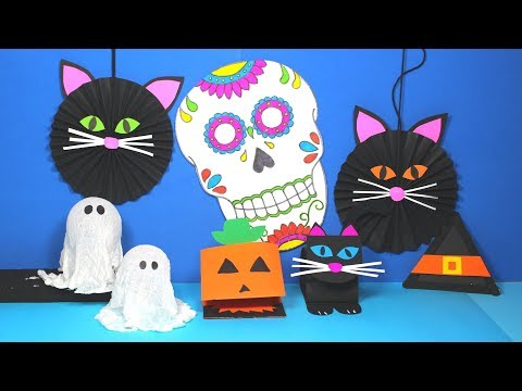 DIY Halloween Crafts for Kids | Halloween Crafts