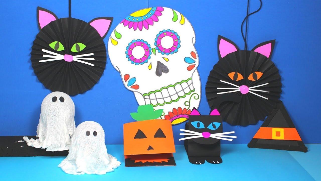 Diy Halloween Crafts For Kids Halloween Crafts Youtube