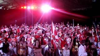 Gravação coro do samba da Viradouro para o Carnaval de 2015