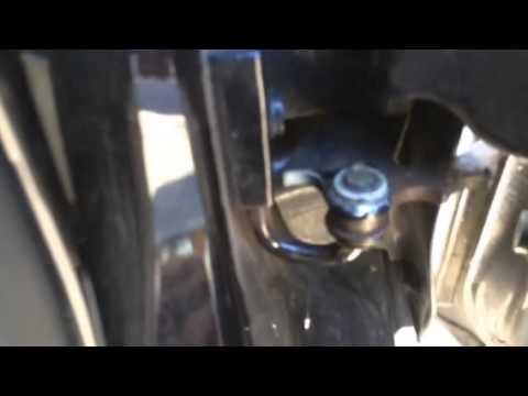 VW T4 White Door Hinges