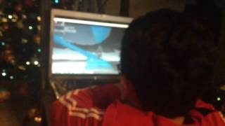 Crazy kids playing Roblox OMG