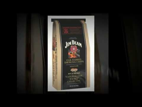 Jim Beam Oak Barrel Chips Lump Charcoal