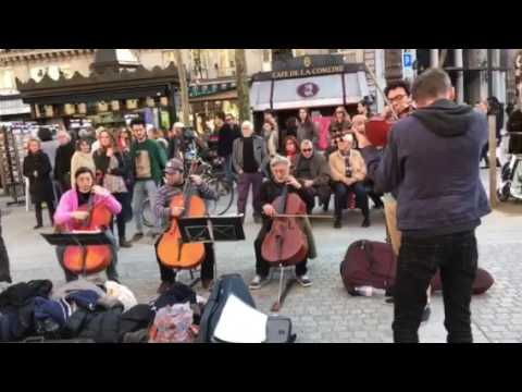 Saturday, All Classical Music (3) on The Streets of Paris. March 25, 2017