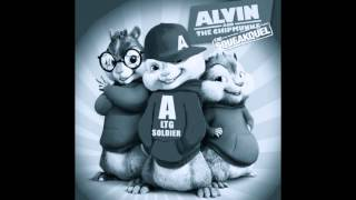 "Alicia Keys ""Girl On Fire (Inferno Version)"" ft. Nicki Minaj ChipMunk/Chipettes Version w/Lyrics"