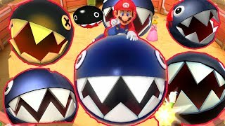 Evolution of Chain Chomp Battles in Mario Party (1999-2018)