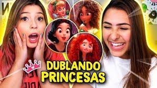 DUBLEI UM FILME DA DISNEY! feat. Bianca Alencar
