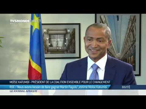 "Moïse Katumbi : ""Nous avons besoin de faire gagner Martin Fayulu"" - RDC 2018"