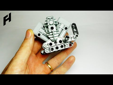 How To Build The V Engine Lego Technic Youtube