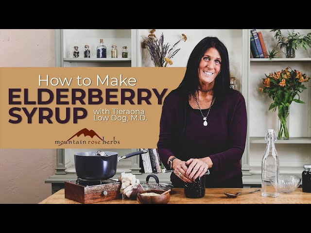 How to Make Elderberry Syrup & Pro Tips (Tieraona Low Dog, M.D.)