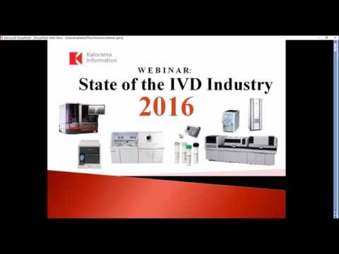 The State of the IVD Industry 2016 Webinar