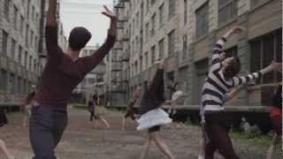 "Edward Sharpe & The Magnetic Zeroes ""Man on Fire"" video, featuring NYC Ballet!"